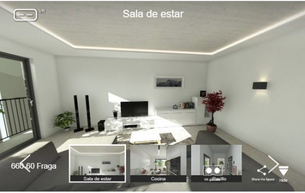 Realidad virtual interior en GREEN WALL